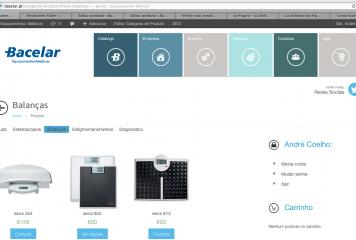 Bacelar abre loja online